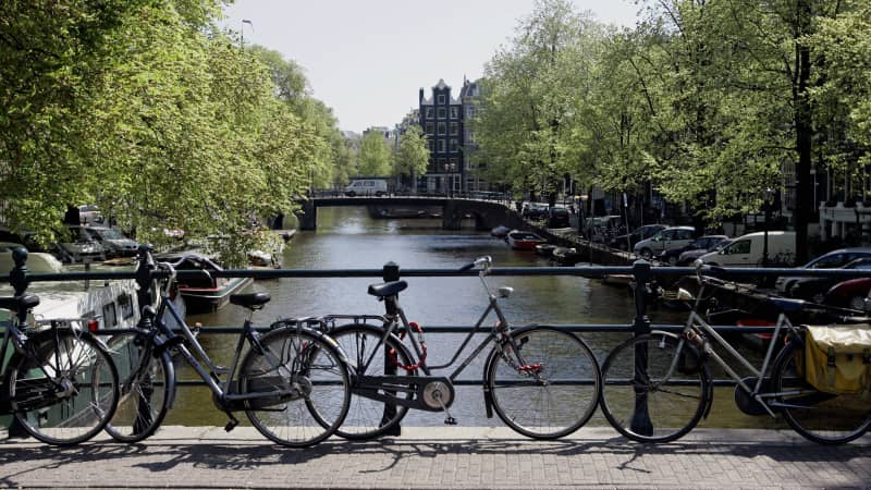 The European city of Amsterdam is apparently one of Europe's safest spots.