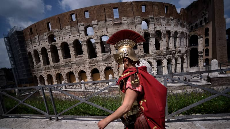 Italy, home to Rome's Colosseum, is eighth on the list.