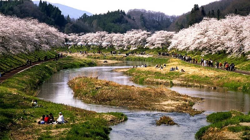 Fukushima Natsuigawa Ravine