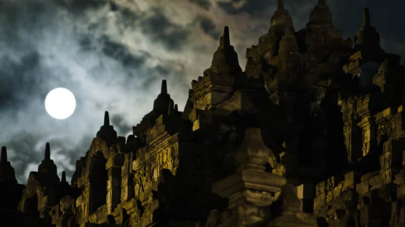 Borobudur is the most visited tourist attraction in Indonesia.