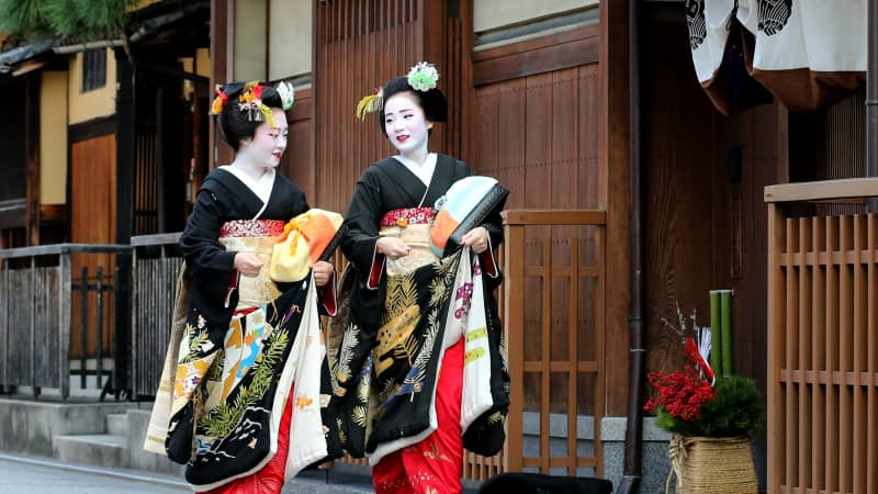 Kyoto cool: Japan's former capital preserves old traditions.