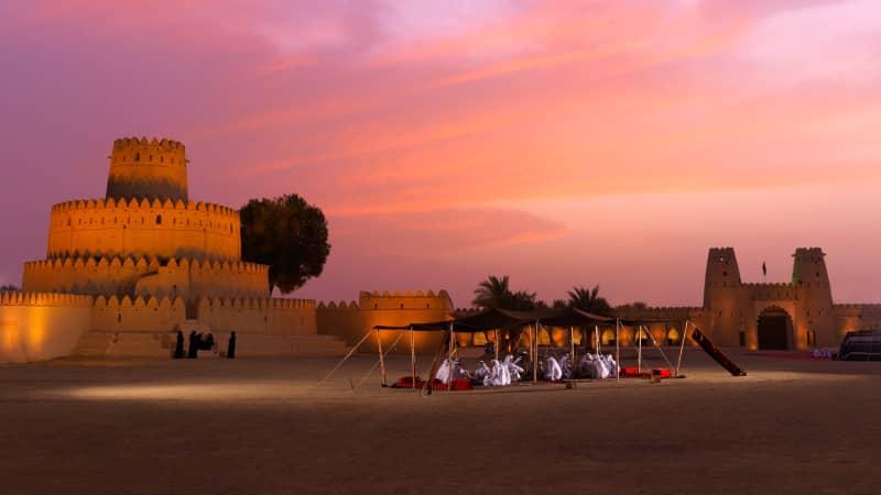 Abu Dhabi travel image provided by Abu Dhabi Tourism & Culture Authority