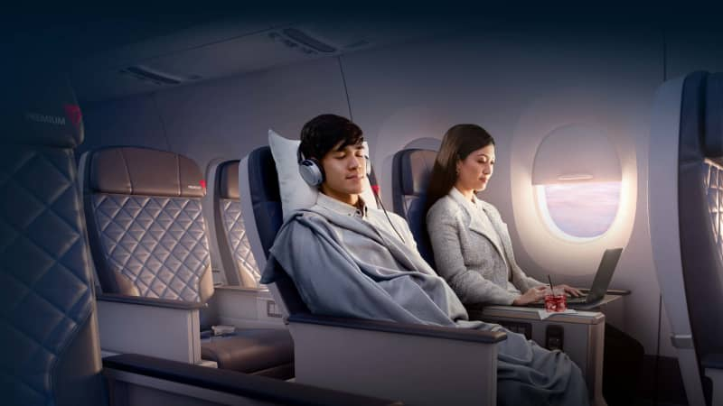 Delta Air Lines: Not snoozing when it comes to keeping their passengers connected.
