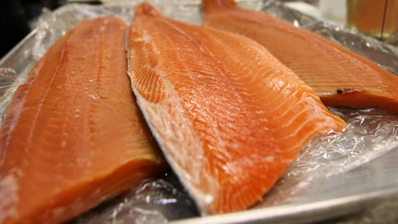 Salmon is delicious and nutritious -- what more could you want?