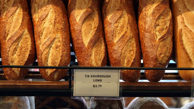 Sourdough bread is San Francisco's most beloved baked treat.