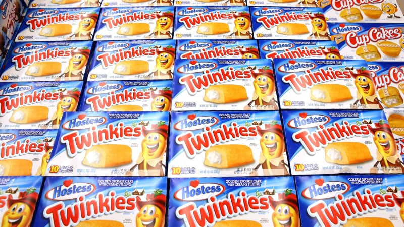 Twinkies are known for their durability and shelf life -- rumour says they could survive a nuclear attack.