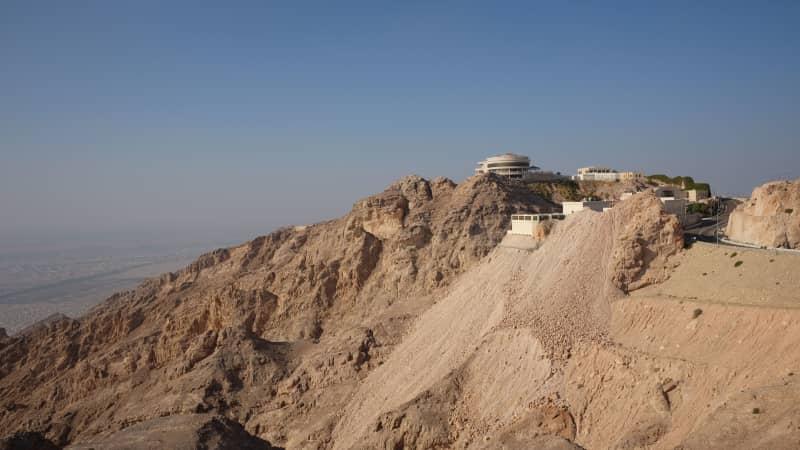 Jebel Hafeet summit