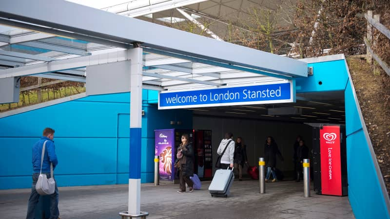 Stansted is one of London's best spots for budget flights.