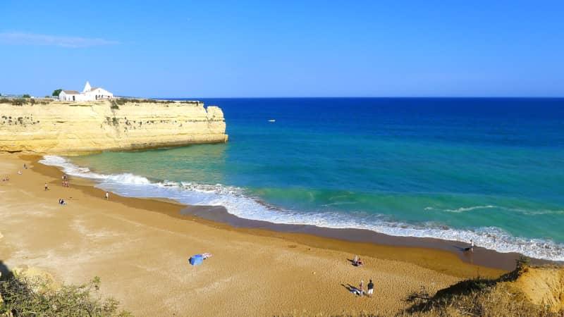 Portugal wild Algarve Praia Nova