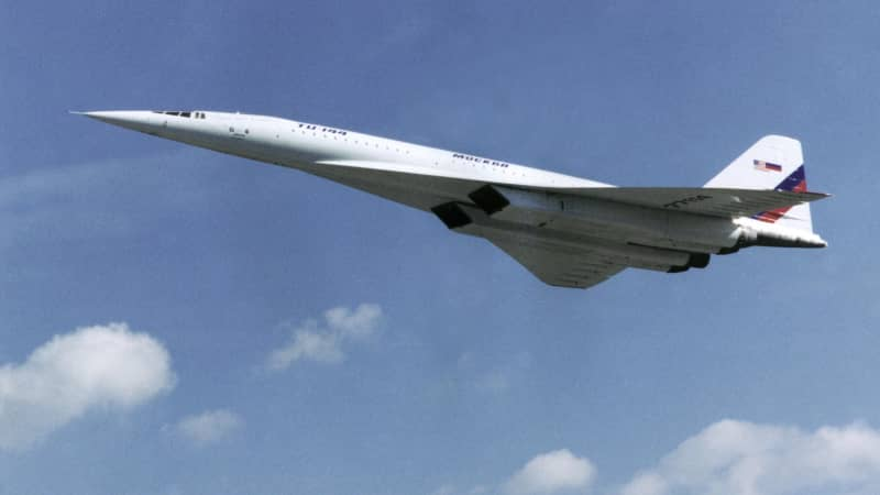 The Tupolev Tu-144 operated from 1968 to 1999.