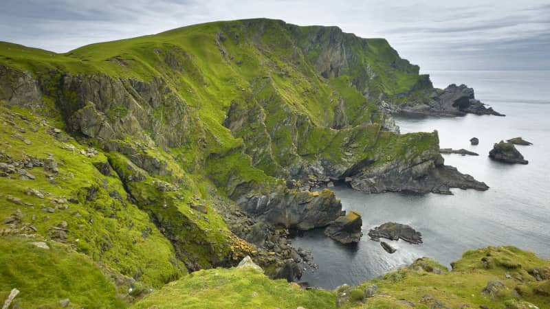 The Shetland islands are the UK's most northerly territory.