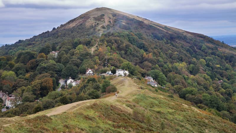 The Malvern Hills offer some of the UK's finest hiking trails.