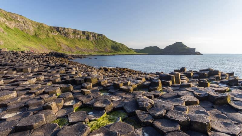 Battle route: Giant's Causeway, Antrim, Northern Ireland.