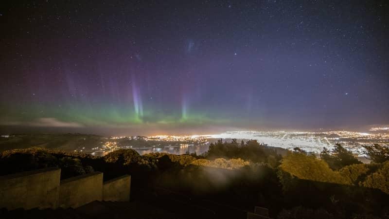 Aurora Australis New Zealand,  Dunedin