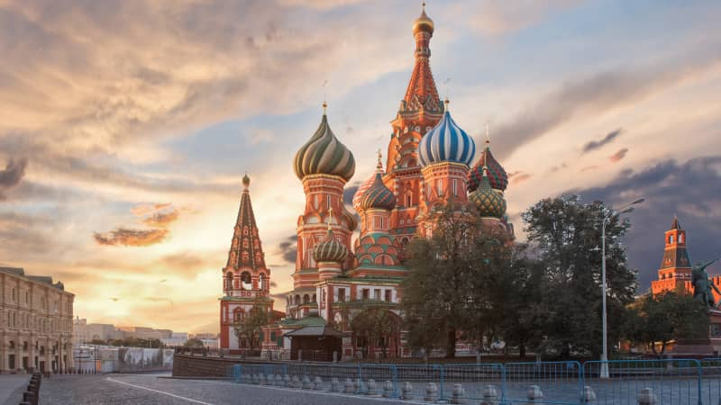 Eastern European cities -- including Moscow, Russia -- make up the bulk of the top 10.