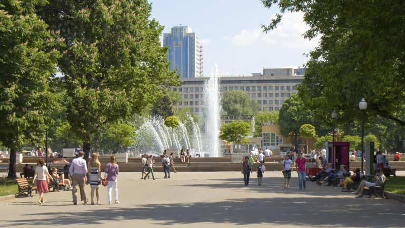 Gorky Park: Stalin's contribution to inner city serenity.