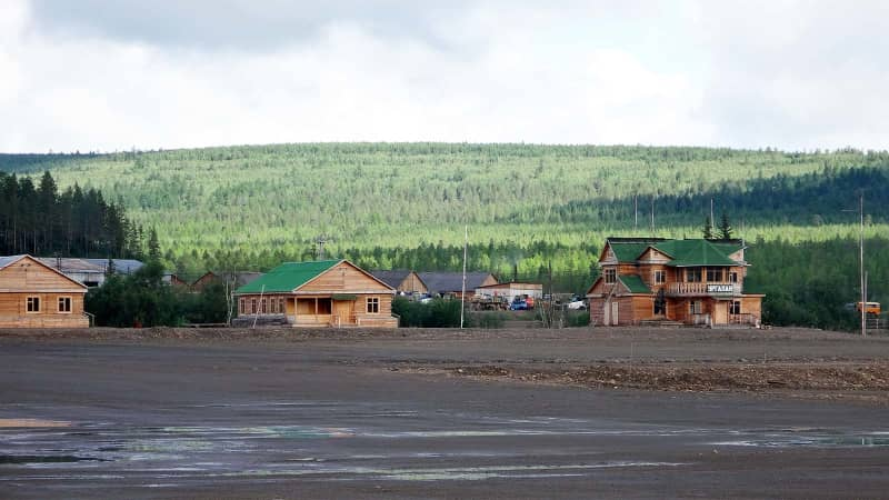 Russia's wooden airports