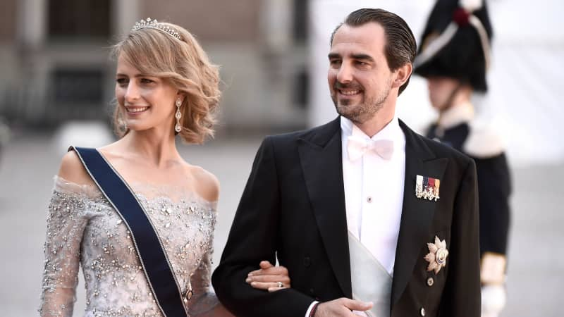 Prince Nikolaos and his wife Tatiana moved to Greece five years ago.