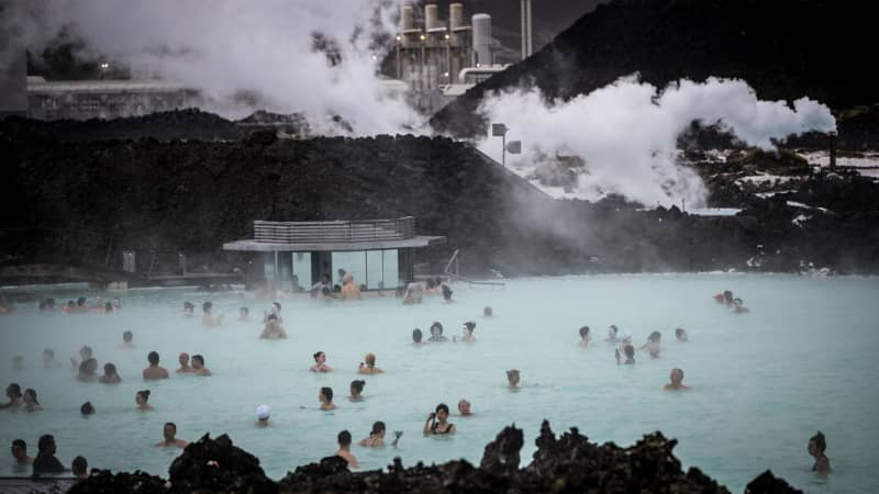 Social media definitely plays a part in the popularity of Icelandic attraction the Blue Lagoon, in Reykavik.