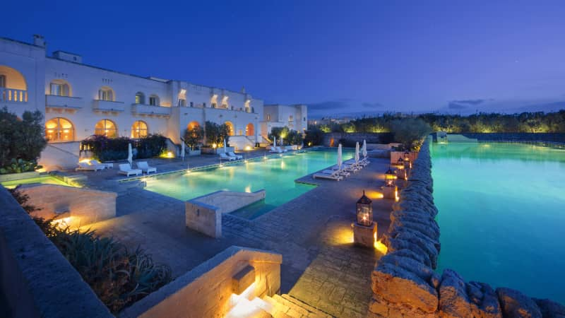 Borgo Egnazia blends traditional style with modern execution.