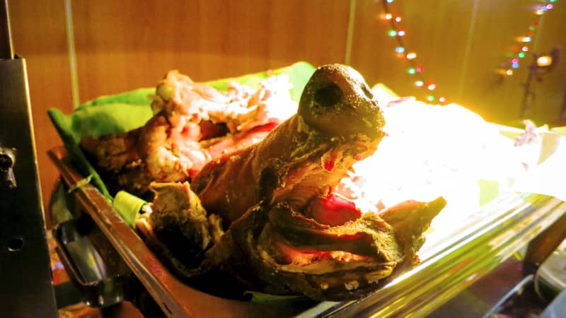 Anthony Bourdain said that Filipino lechon was the finest pig in the world.