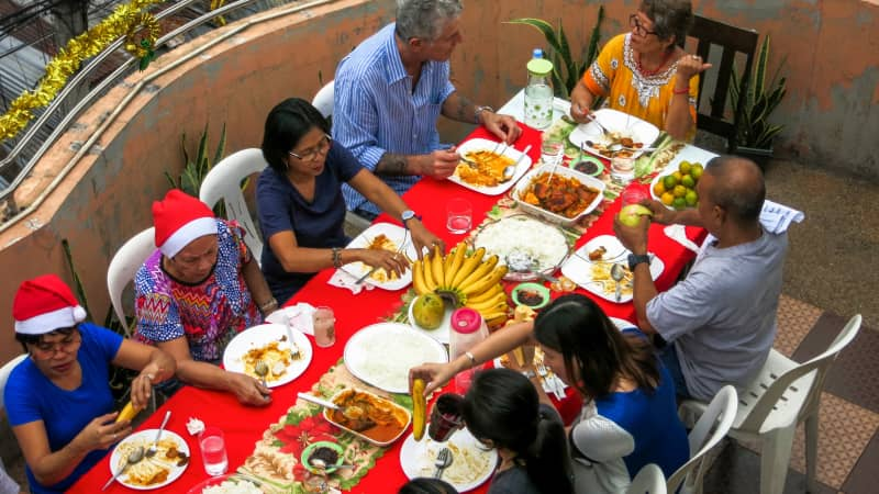 """Bourdain called Filipinos the """"most giving of all people on the planet."""""""