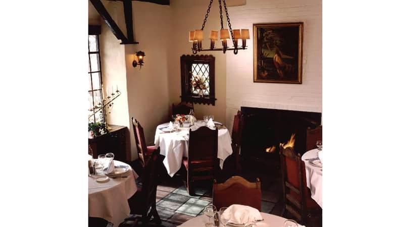Hyeholde Restaurant is outside Pittsburgh, Pennsylvania.