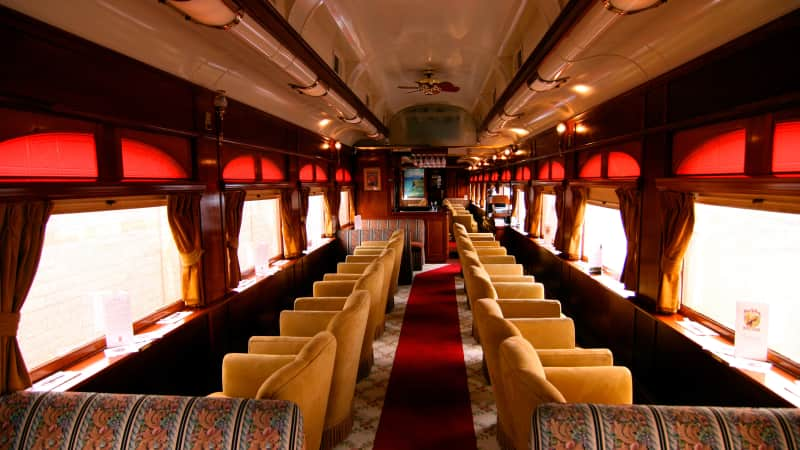 Combine some wine country tourism with your Thanksgiving Day meal on the Napa Valley Wine Train.