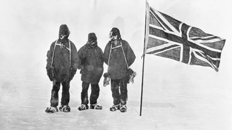 Shackleton's-team-took-a-picture-at-88-23-S—the-southernmost-point-anyone-had-yet-reached----courtesy-Getty