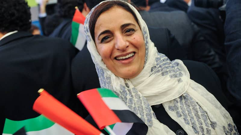 Sheikha Lubna Al Qasimi was the UAE's first Minister of Tolerance.