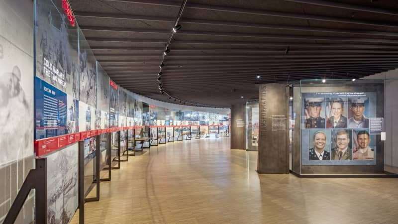 The museum strives to tell the whole veteran story — not just one of war.