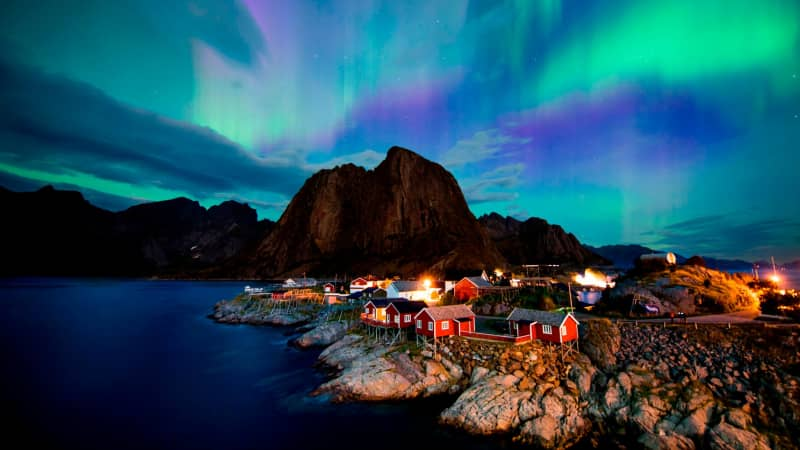 Lofoten Islands: Northern Lights hotspot.