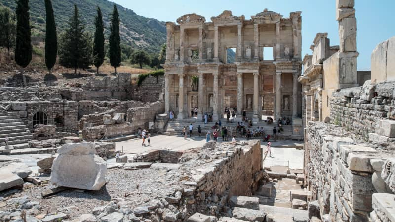 Ephesus: Europe's most complete classical city.