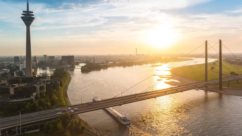 Dusseldorf: Germany's go-to destination for hip travelers.