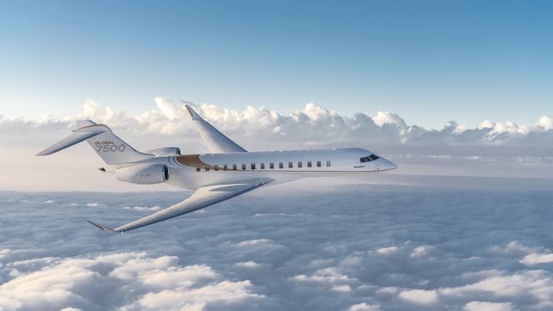Montreal-based Bombardier Aerospace is preparing the launch of its Global 7500 jet