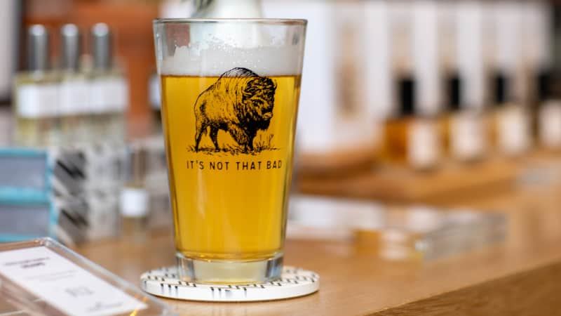 Buffalo is now home to a number of breweries, and, fun fact: The bars stay open until 4 a.m.