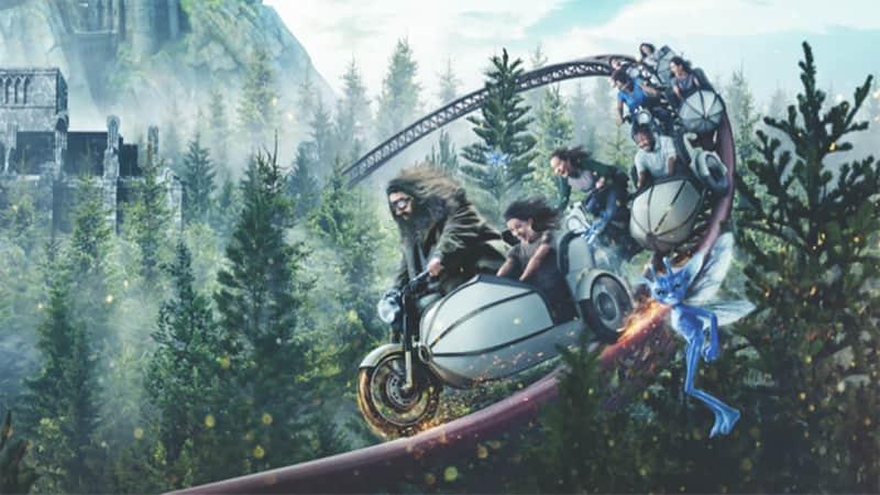 Hagrid Motorbike Universal Orlando Roller Coaster