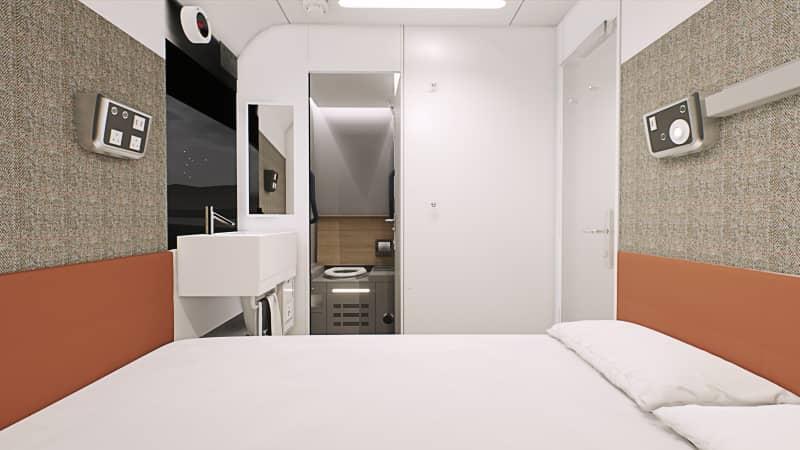 Suite, Caledonian Sleeper