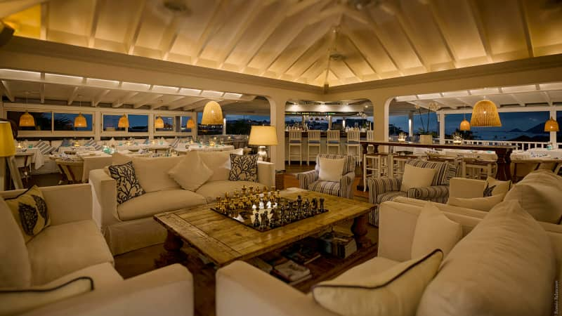 Go for the view and the food. Bonito Saint Barth's ceviche is especially memorable.