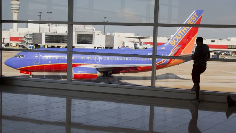 Southwest Airlines also flies out of Hartsfield-Jackson Atlanta International Airport.