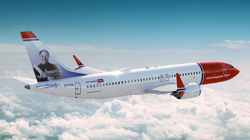 Norwegian Airlines has a higher proportion of 737 MAX aircraft than some carriers.