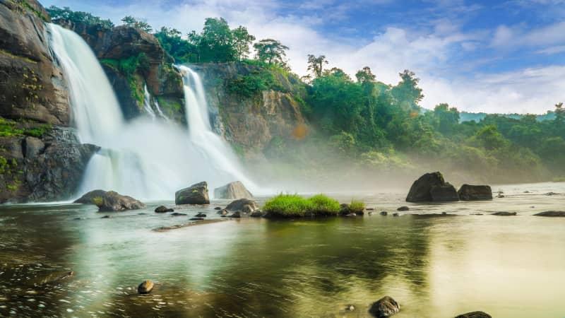 Athirappalli Waterfalls, Kerala