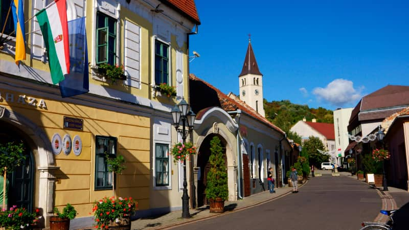 Tokaj is known for its historic architecture as well as its legendary wine.