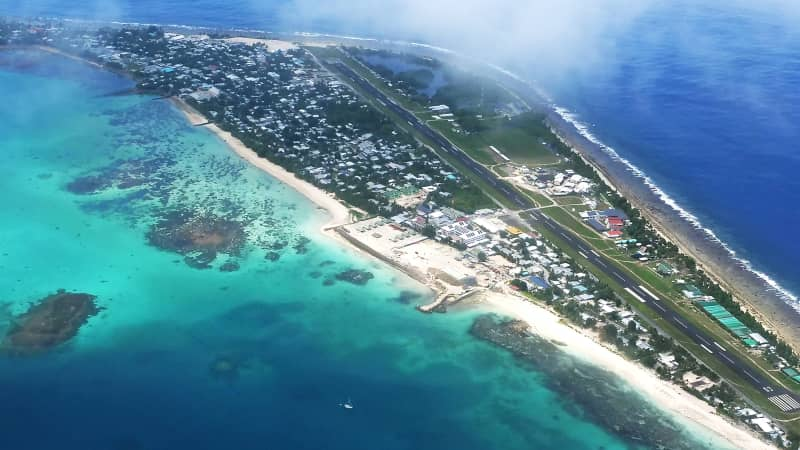 Tuvalu is among the world's most isolated nations.