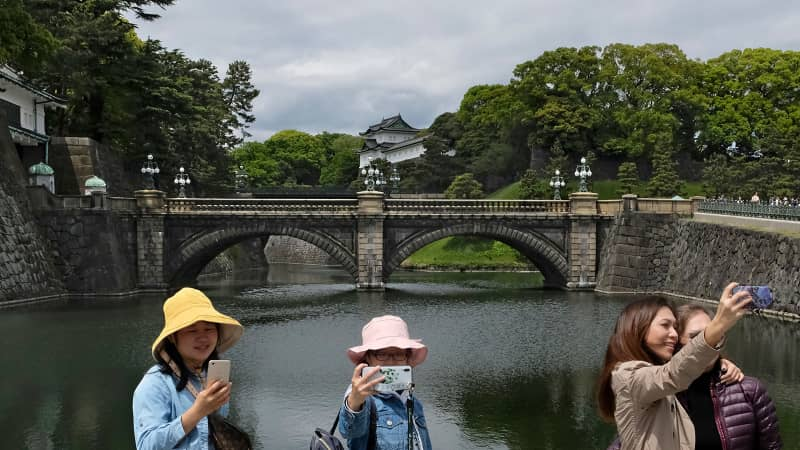 Joining a guided tour allows you to go beyond the main entrance of the Imperial Palace.