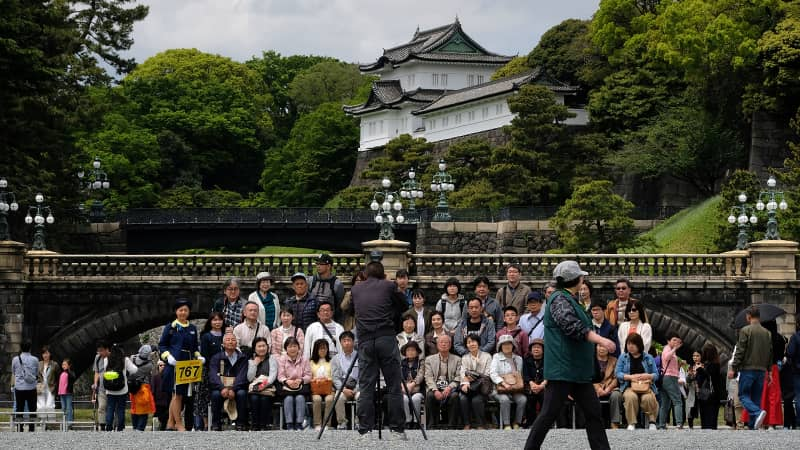 On May 4, the new emperor and empress of Japan will open the Palace Grounds of the Imperial Palace to the public.