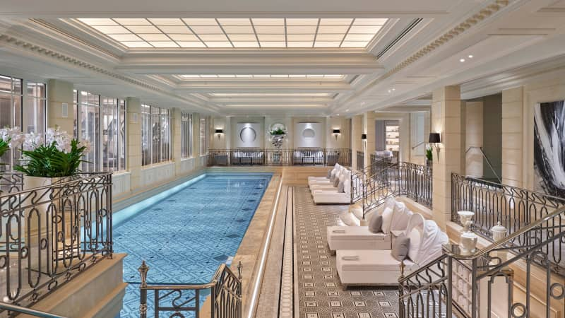 The Four Seasons George V in Paris is one of the properties Virtuoso has a relationship with.