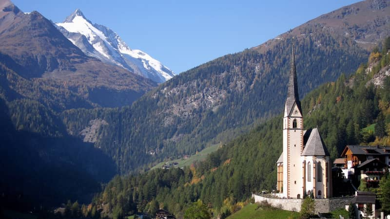 St. Vincent's Church in Heiligenblut am Grossglockner