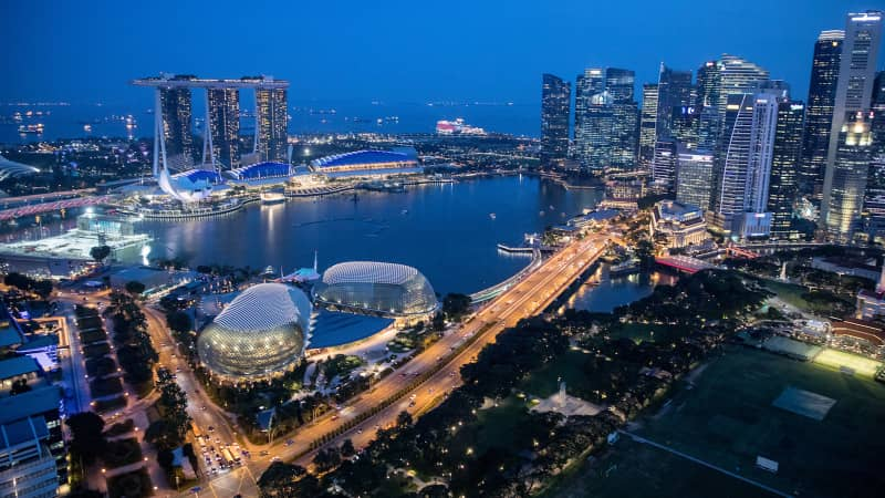 When it comes to beautiful skylines, few cities can compete with Singapore.