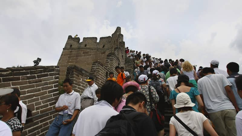 China issued a 64-page etiquette guide for its residents in 2013 after several incidents of Chinese travelers being called out for bad behavior.
